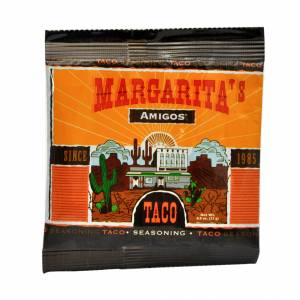 Taco spice pack by Margarita's Amigos